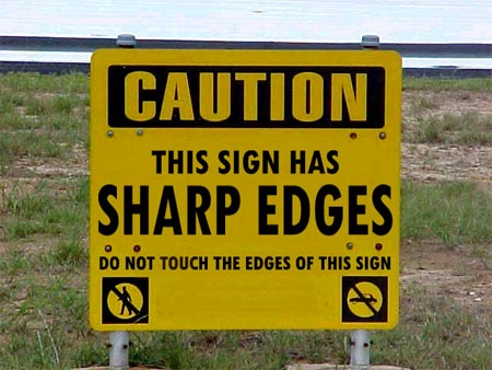 Funny road signs | Blogger's Compass